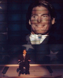 Christopher Reeve leziune completa a maduvei spinarii